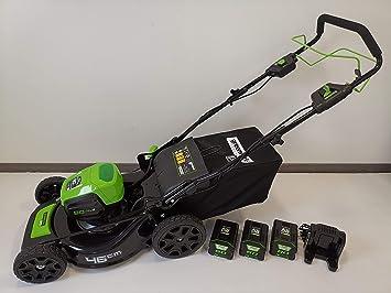 Greenworks Tools 80V acumulador cortacésped 46cm tracción a ...