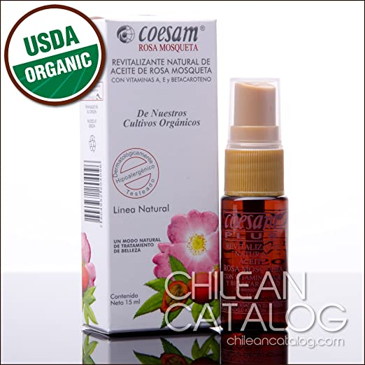 Amazon.com : Natural Revitalizant of Rose Hip Oil [Coesam Chilean Rosehip] : Body Oils : Beauty