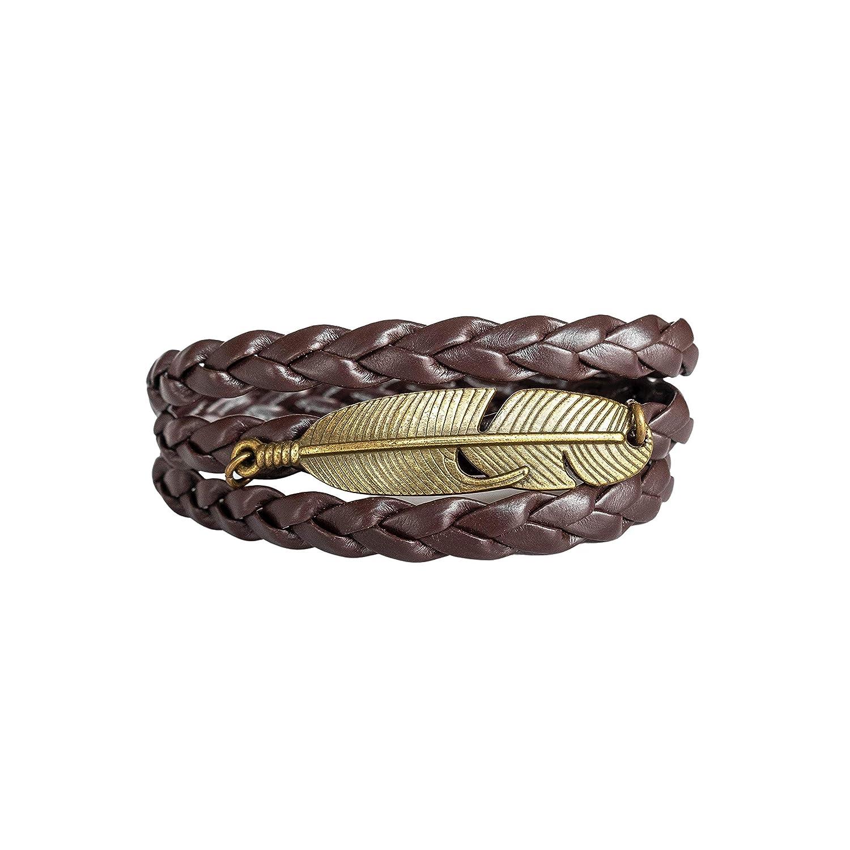 Inspirational Minimalist Vegan Bracelet for Men Couples Friendship Bracelet Gift for Him Men Wrap Jewelry Men Geometric Triangle Bracelet
