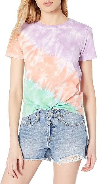 The Drop Women's Courtney Short-Sleeve Tiny Crew Neck Jersey T-Shirt