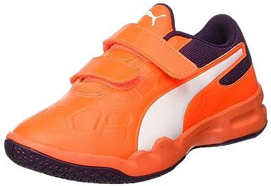 1c85a3f5054bec Puma Unisex-Kinder Tenaz V Jr Handballschuhe