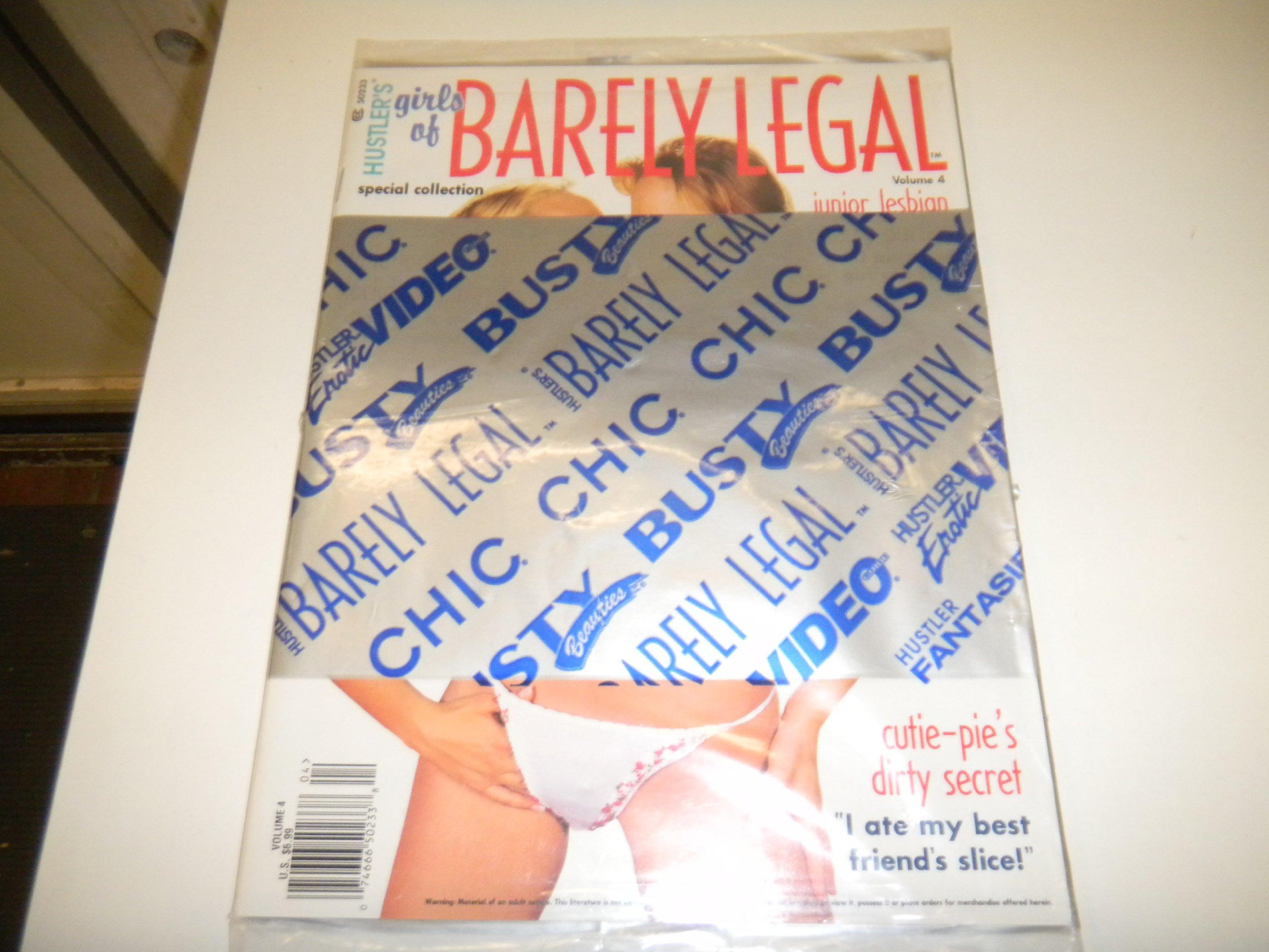 Can hustler magazines barely legal girls