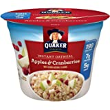 Quaker Oats Instant Express Oatmeal, Apple Cranberry, 1.79 Ounce