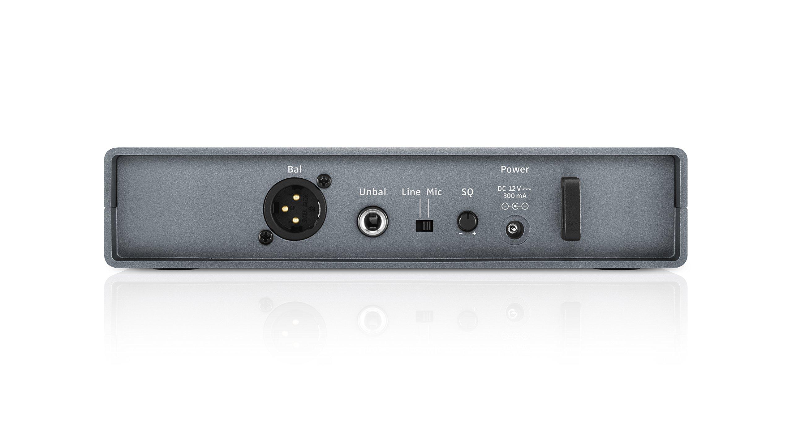 Sennheiser XSW 1-ME2-A Wireless Presentation Microphone, A Range 548-572 MHz
