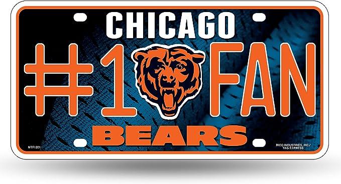 NFL Chicago Bears Ceramic Gameday Platter NIB Licensed,
