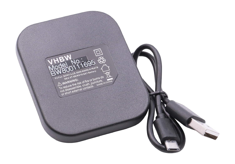 Cámara de batería cargador dual para Sony smartshot ILCE-qx1