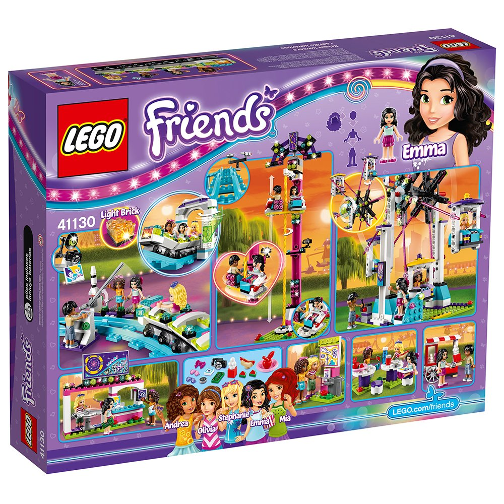 LEGO Friends Amusement Park Roller Coaster 41130 Toy for Girls and Boys by LEGO (Image #6)