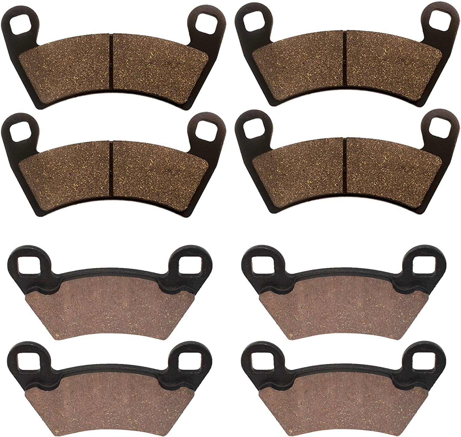Rear Brake Pads For Polaris Ranger RZR XP 800 EPS LE 2010 2011 2012 2013