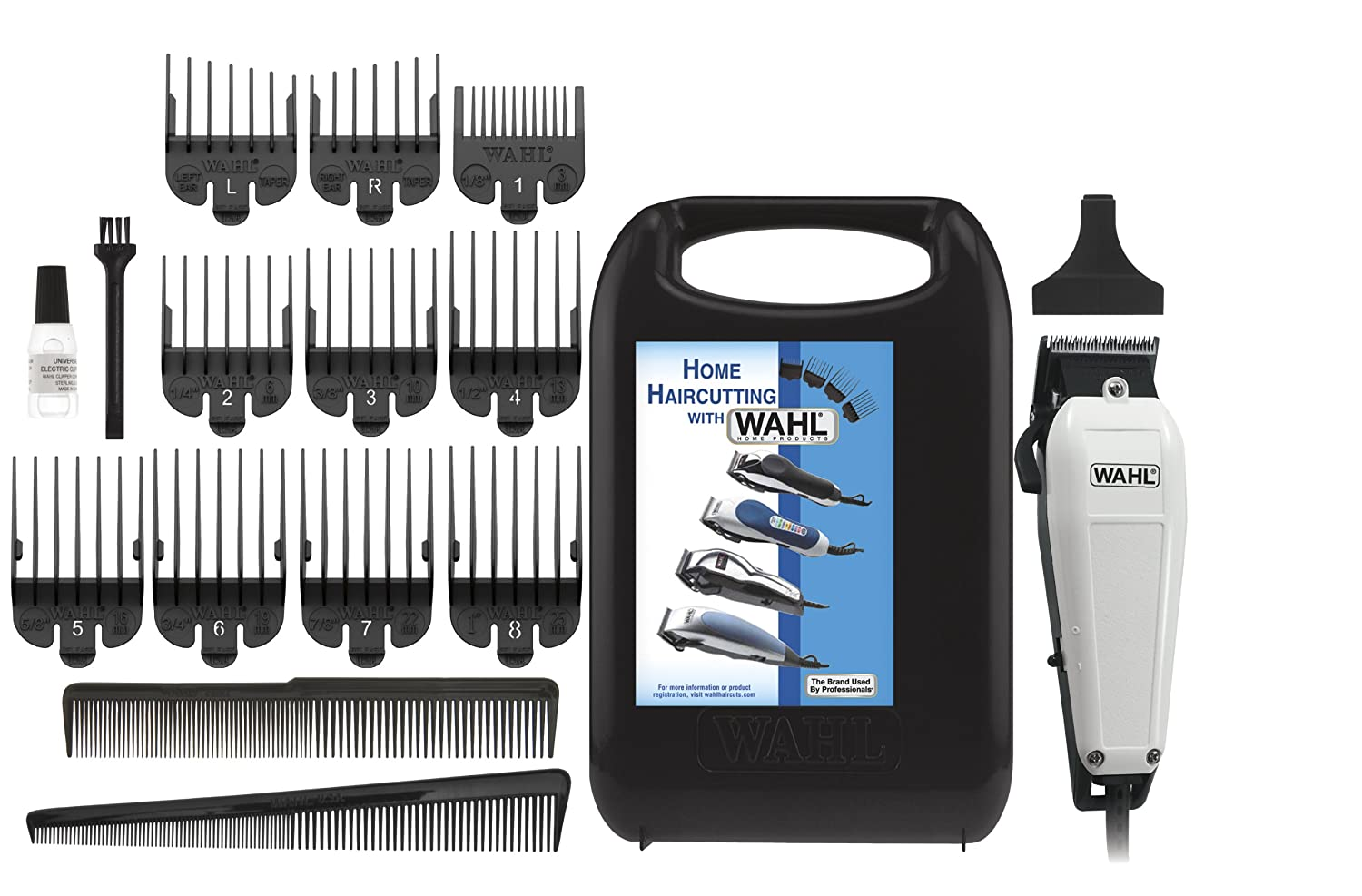 Wahl 10-10 The Styler 10 Piece Complete Haircutting Kit