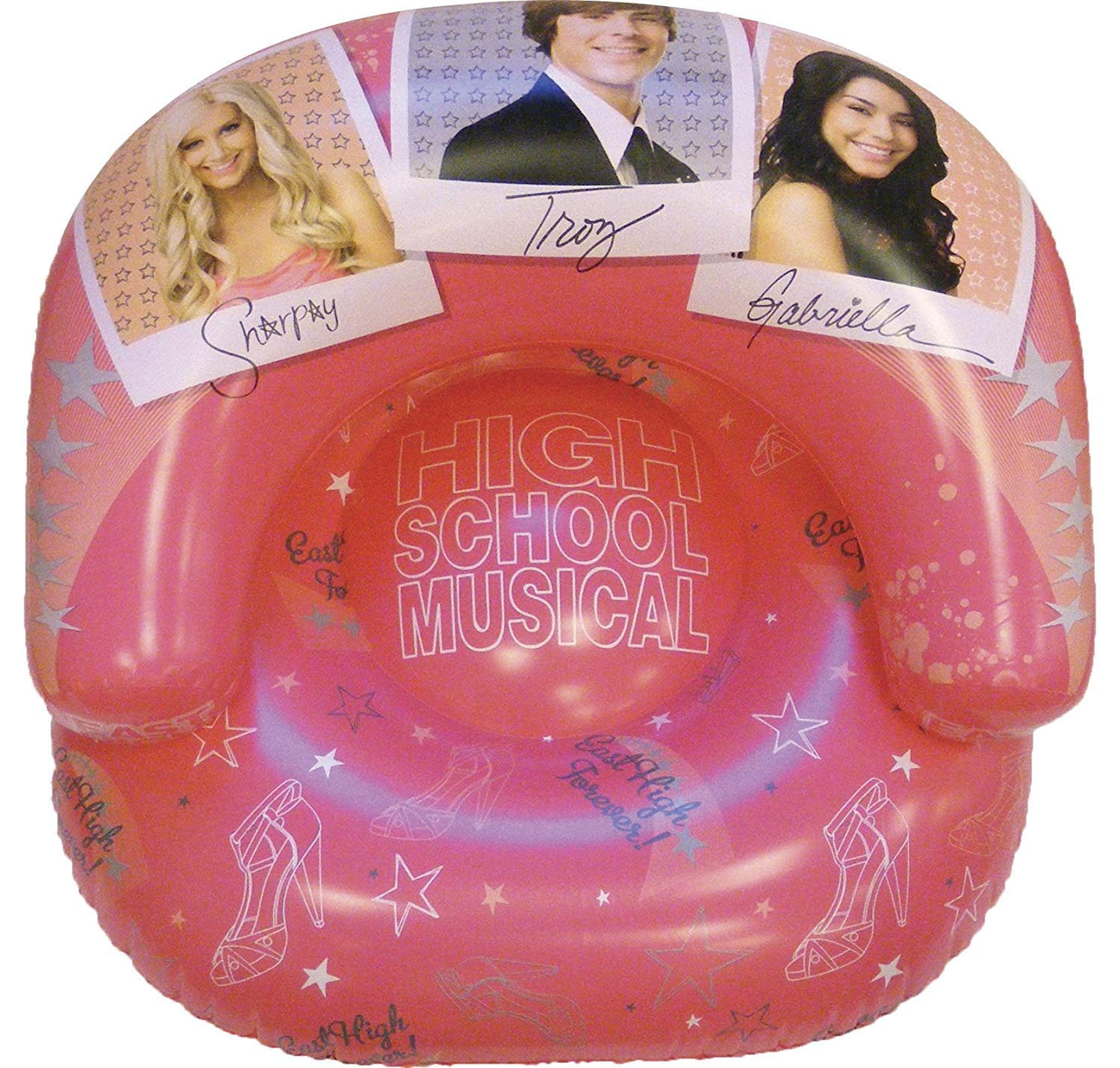 High School Musical Silla Inflable Graduación Diseño ...