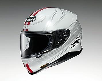 Shoei nxr lunar TC de 1 Casco de Moto blanco y rojo Talla:XXS (