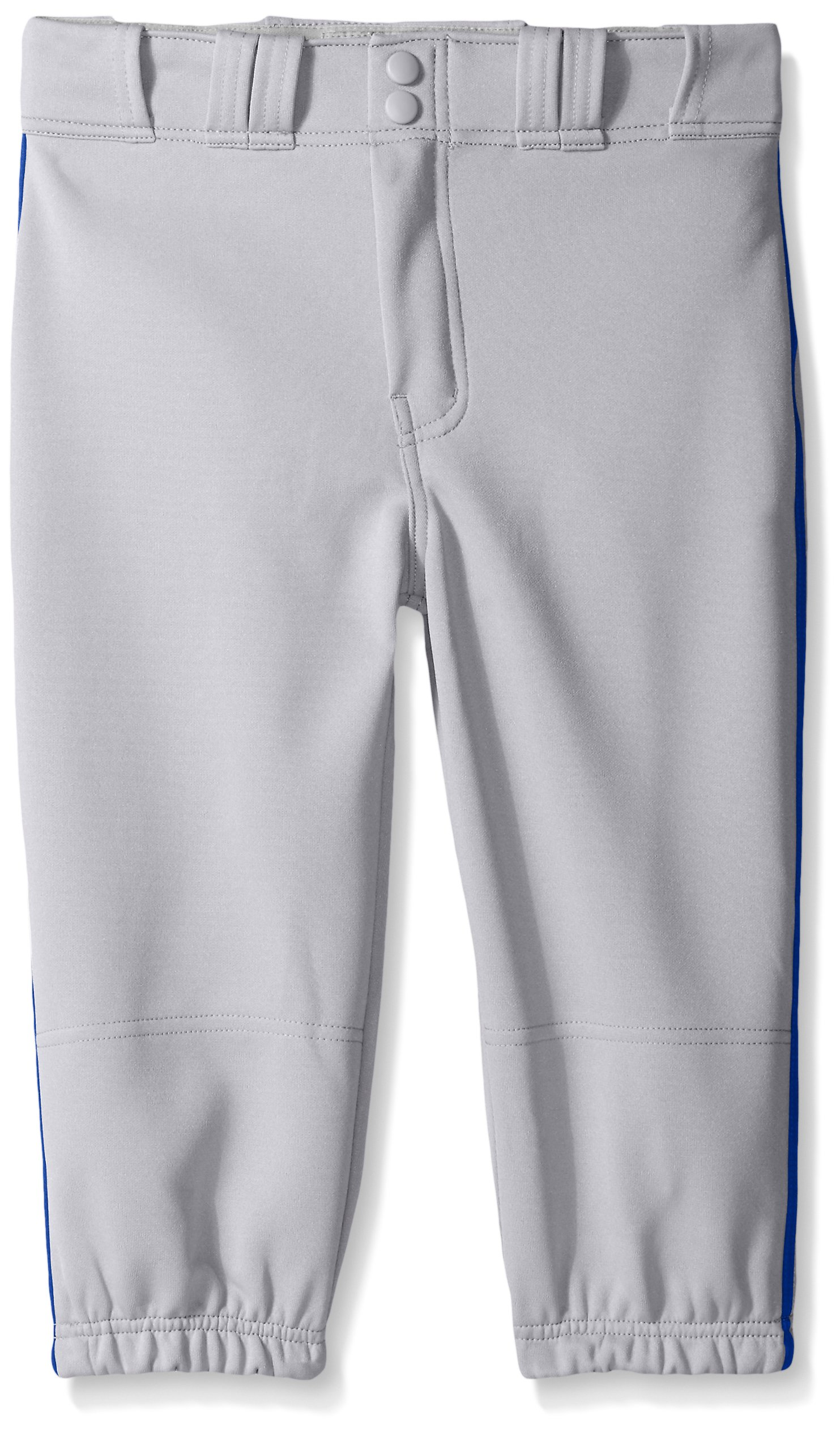 Easton Boys PRO Plus Piped Knicker, Grey/Royal, Small by Easton