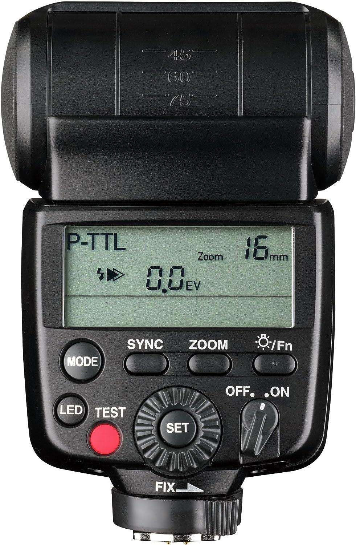 Pentax AF540GZ II flash New Weather Resistant Flash Unit for Pentax SLRs with Case Black