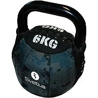 Sveltus Soft Kettlebell 6 kg zwart krachttraining spiertraining gewichten