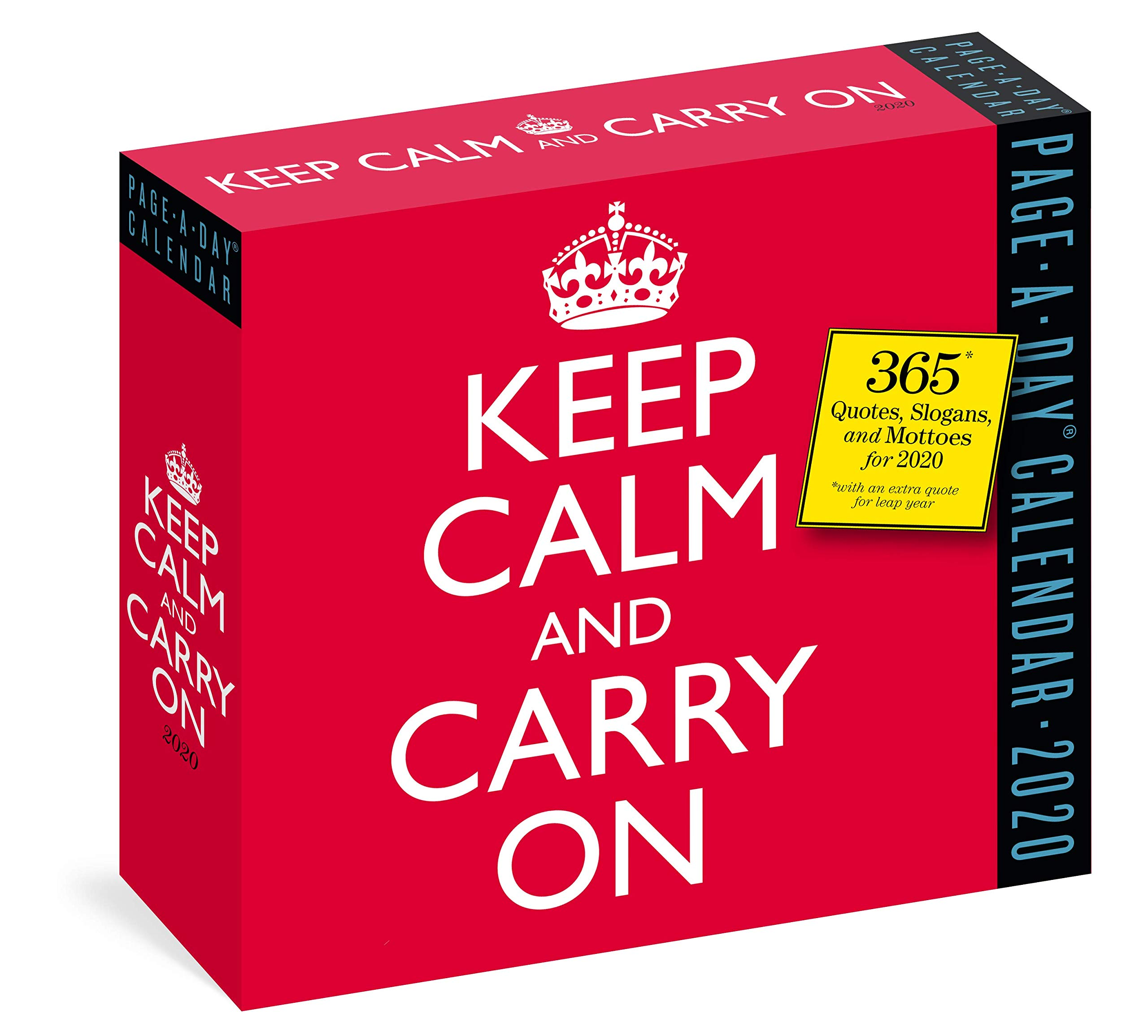 Keep Calm and Carry On Page-A-Day Calendar 2020