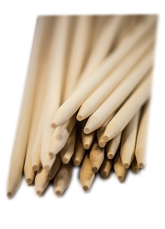 Perfect Stix Semi- Pointed Corn Dog Stick Skewers 8.5
