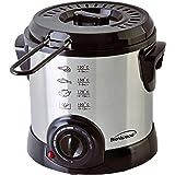 Brentwood DF-701 Electric, 1-Liter, Stainless Steel Deep Fryer, 1 Liter