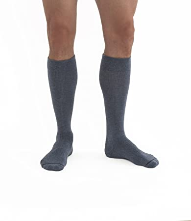 673f3bb772 Image Unavailable. Image not available for. Color: Jobst Unisex Activewear  Knee High Socks - 15-20 mmHg ...