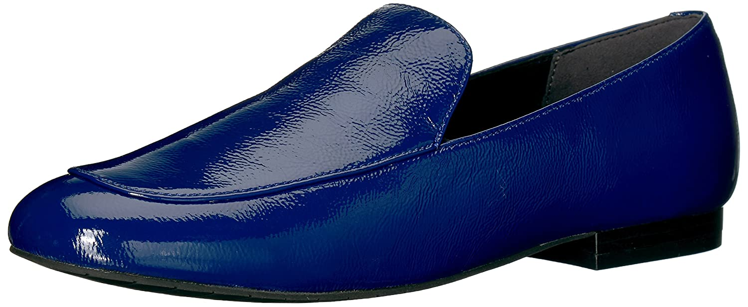 Kenneth Cole New York Wohommes Westley Slip on Loafer Flat, bleu, 10