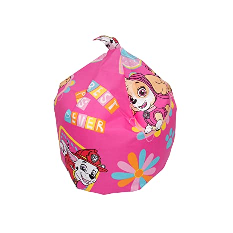 Swell Paw Patrol Forever Machine Washable Bean Bag Fabric Pink 52 X 38 X 52 Cm Caraccident5 Cool Chair Designs And Ideas Caraccident5Info