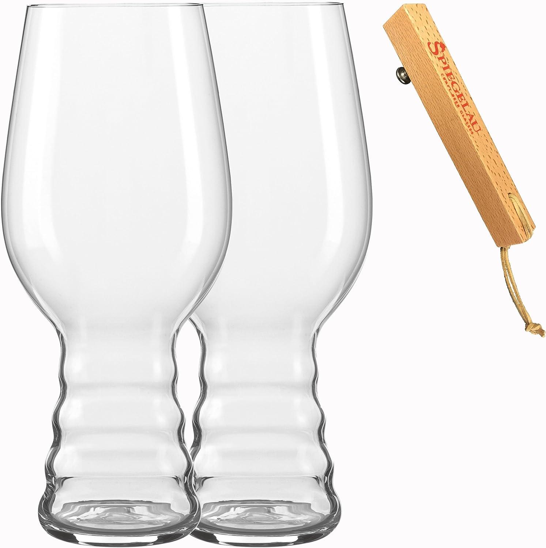 Spiegelau Craft 4992792 Experience IPA - Juego de Vasos de Cerveza (3 Piezas, Cristal, 540 ml)