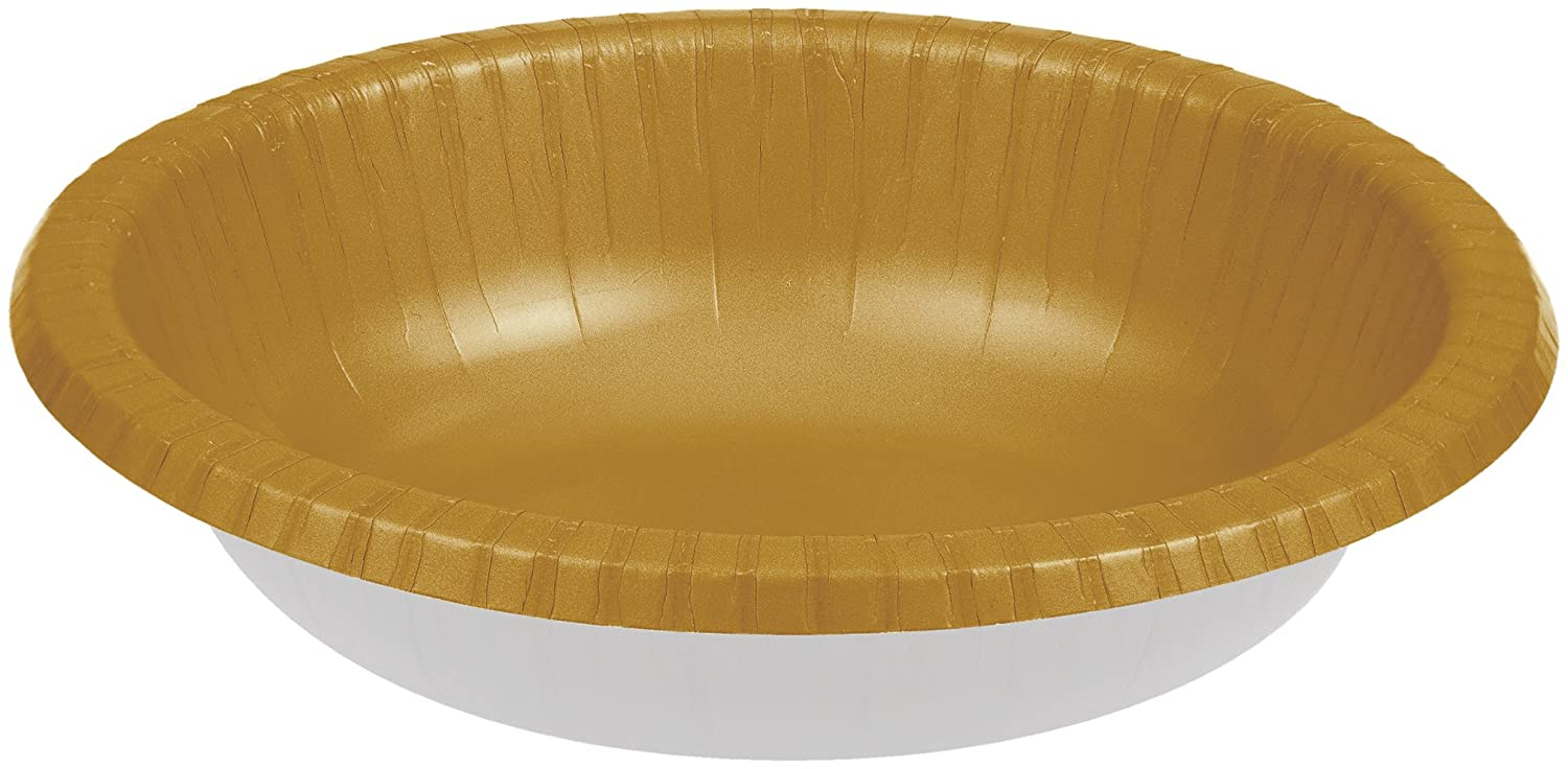 20 oz Party Supplies Multicolored Creative Converting 173279 Tableware Touch of Color Paper Bowls
