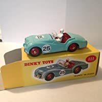 Unbekannt Dinky Toys Atlas – Triumph TR2 Sport Blå – NOREV miniatyrbil – 111