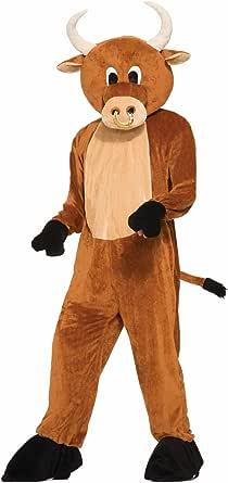 Forum Novelties Men's Brutus The Bull Plush Mascot Costume