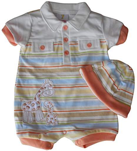 0 – 3 meses – Bebé niños ropa de verano para – Gorgeous crema y de