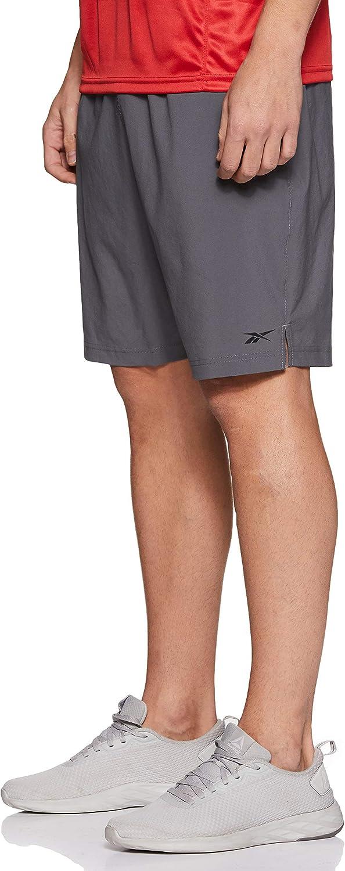 Hombre Reebok Wor Comm Woven Short Pantal/ón Corto S cdgry6