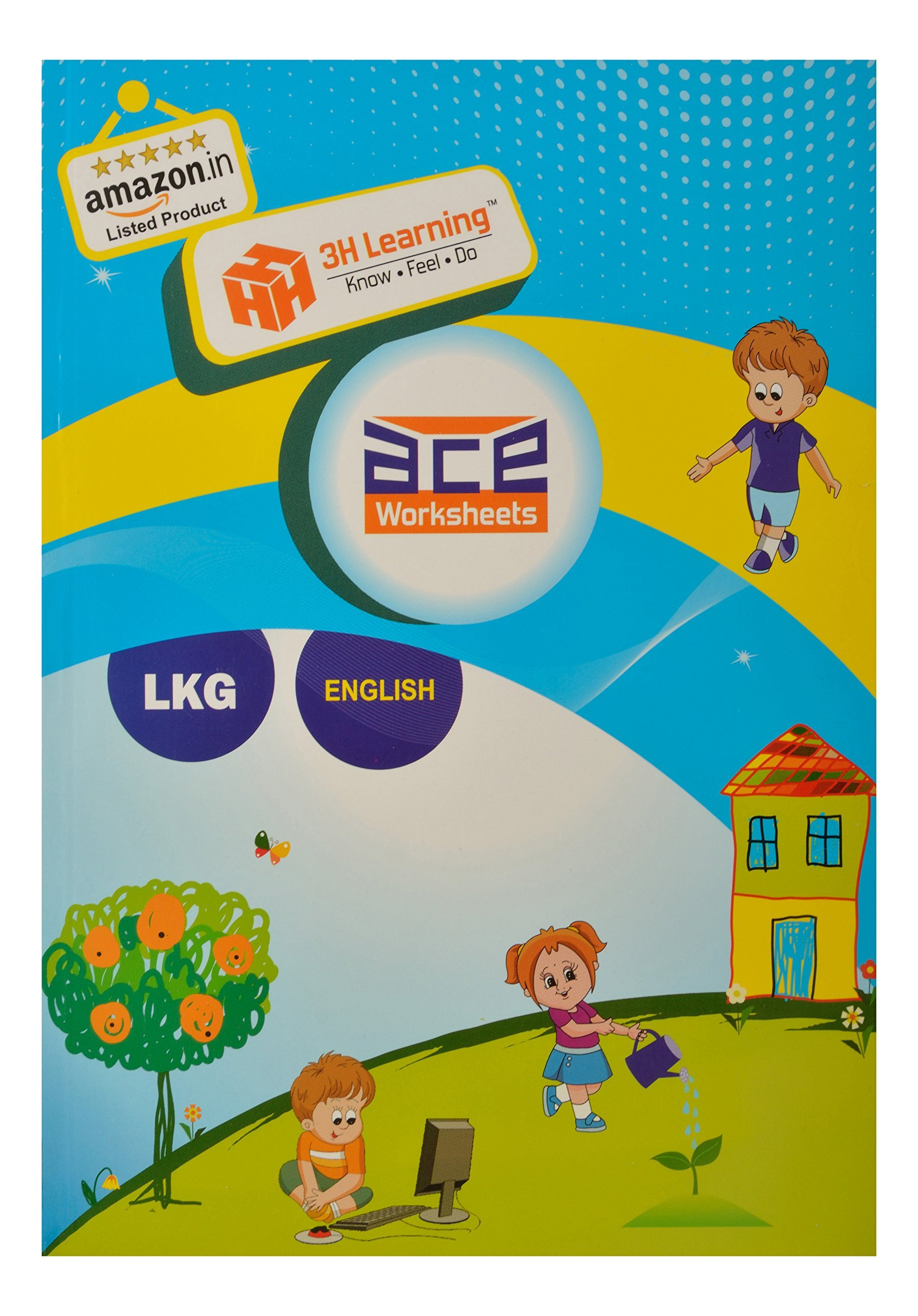 Buy ACE LKG Kids All-in-One Worksheets 304 pages (KG 1) & Montessori ...