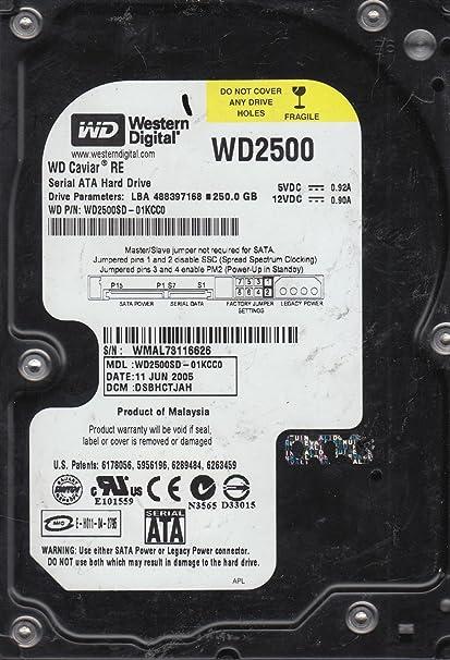 serial number western digital hard drive