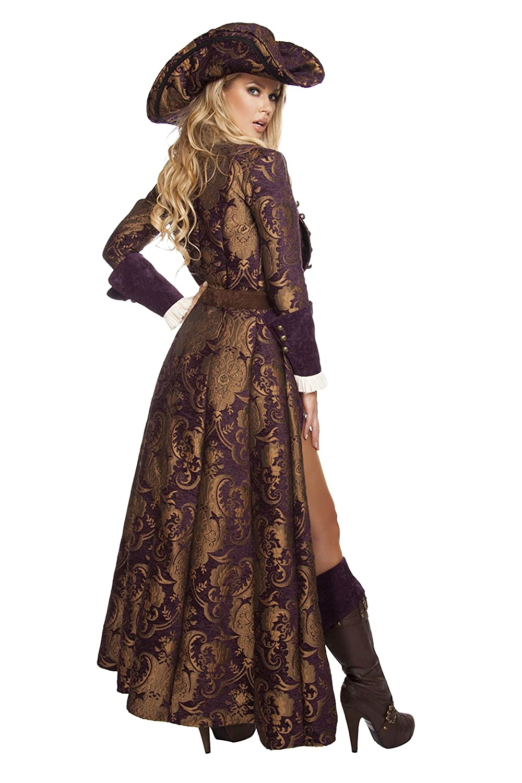 sc 1 st  Amazon.com & Amazon.com: Roma Costume Womenu0027s 6 Piece Decadent Pirate Diva: Clothing