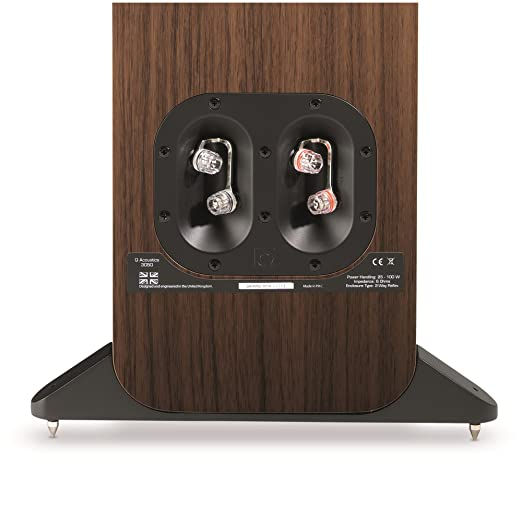 Amazon.com: Q Acoustics 3050 Floorstanding Speaker Pair (American Walnut): Home Audio & Theater