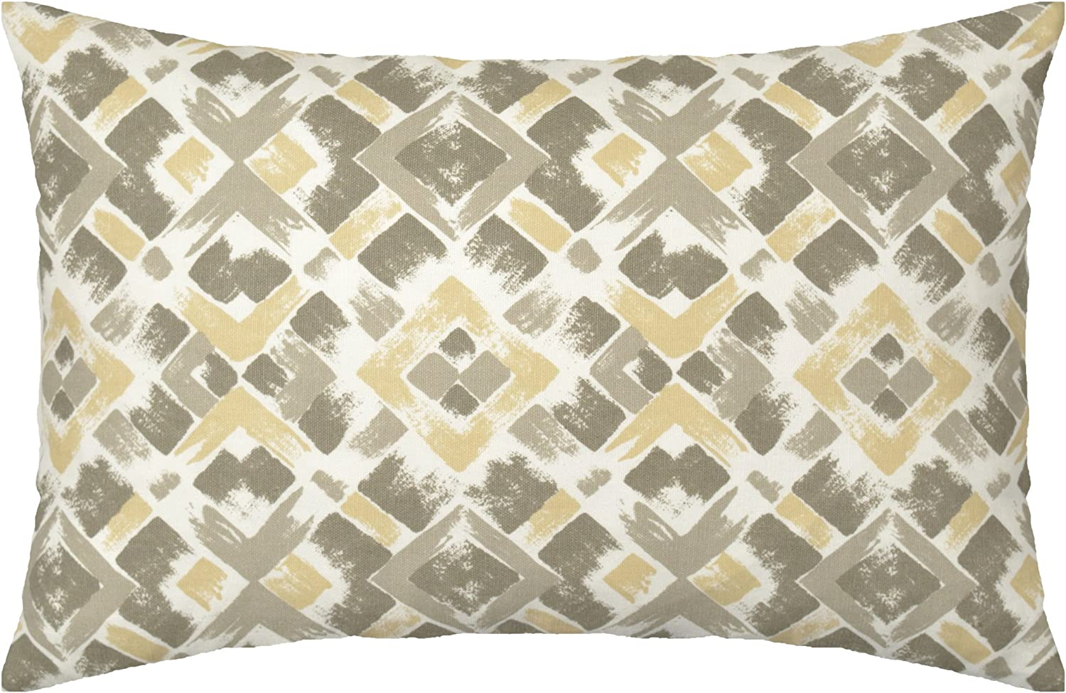 Square 18 x 18 Solid 1 Cover Brown JinStyles Accent Decorative Throw Pillow Cover