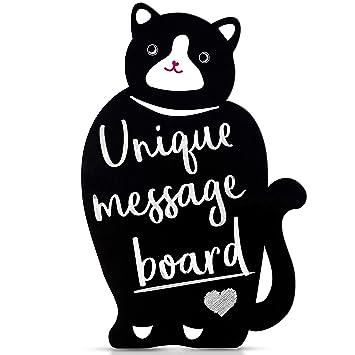 Tablero de mensajes con pizarra decorativa Fácil de limpiar ...