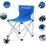 FUNDANGO Lightweight Portable Stable Folding Camping Chair, Weight Capacity 264 lbs, for Outdoor and Home