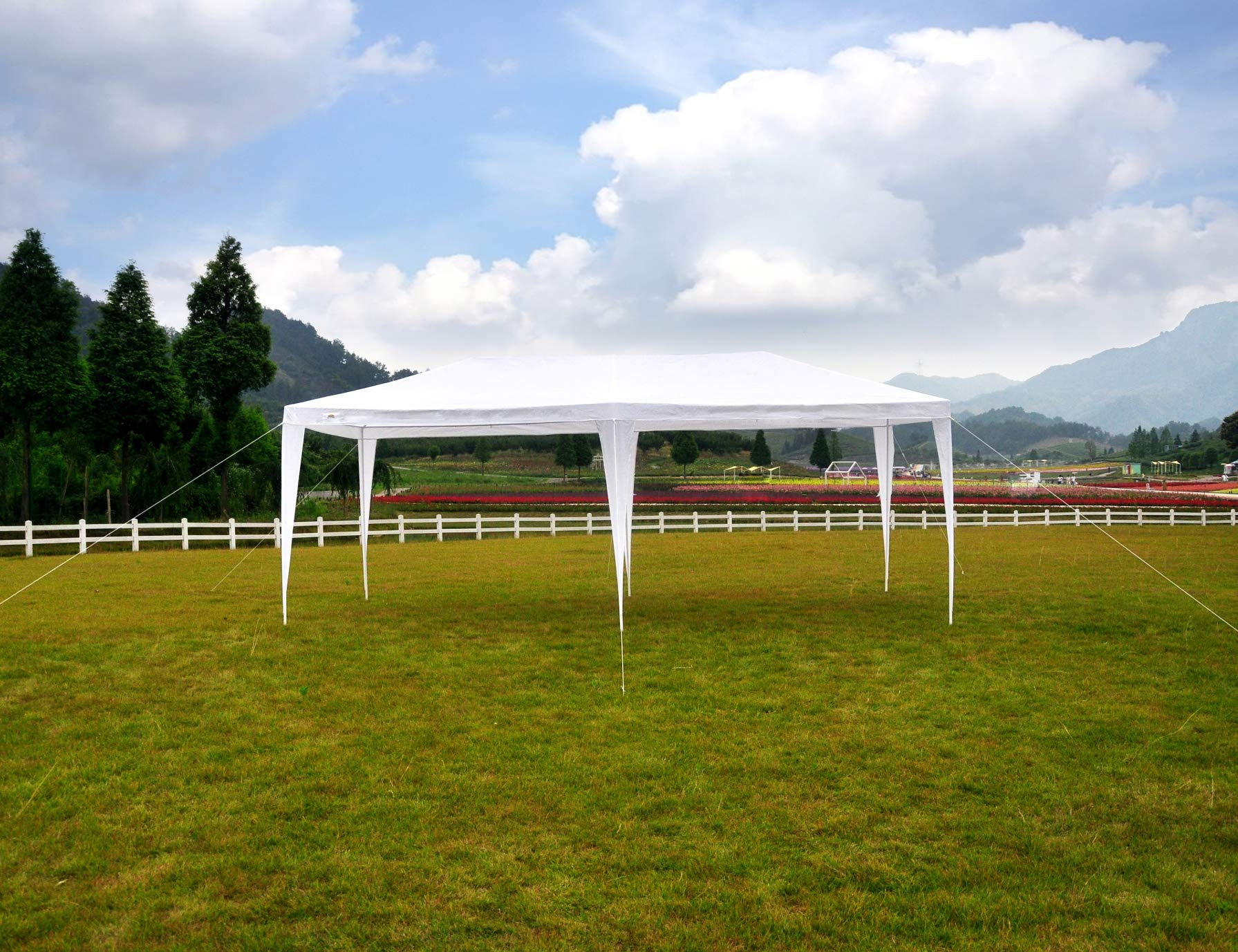 GOJOOASIS 10x20 Outdoor Gazebo Wedding Party Tent w/ 6 Removable Walls by GOJOOASIS (Image #4)