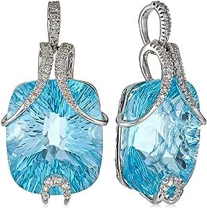 Jewel Room Women's White Gold Diamond Pendant - 84108P