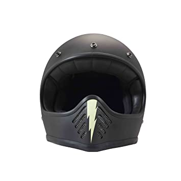 Amazon.es: DMD 1 ffh40000ls01 Casco Moto, Little Skull, talla XS