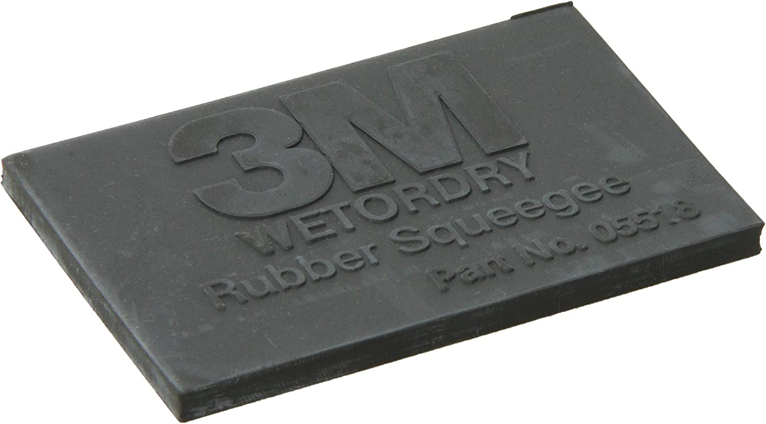 3M Company 5518 Wetordry Rubber Squeegee 05518 2 x 3