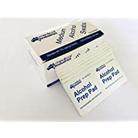 Medium Alcohol Swabs, 65 x 30mm, 70% Isopropyl Alcohol, 100 Packs per Box