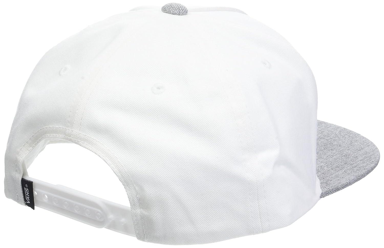 Vans_Apparel Classic Patch Snapback, Gorra de béisbol para Hombre, Blanco (White-Heather Grey G3Q), Talla única: Amazon.es: Ropa y accesorios