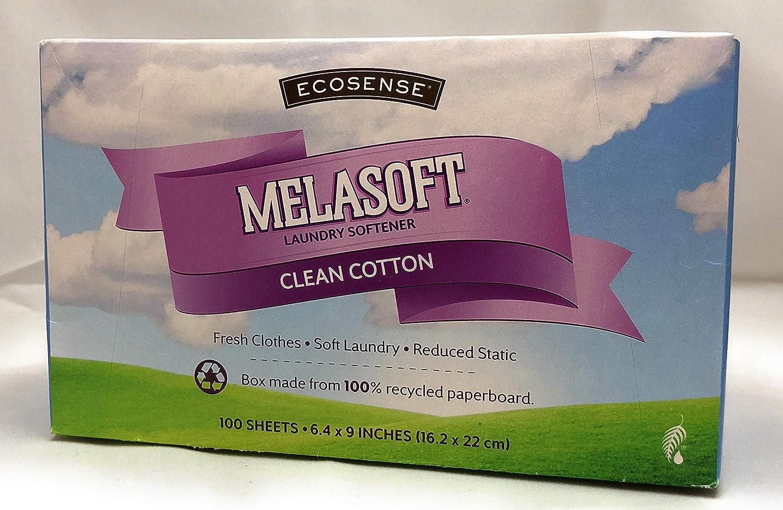 Melaleuca Ecosense Melasoft Laundry Softener Clean Cotton Dryer Sheets