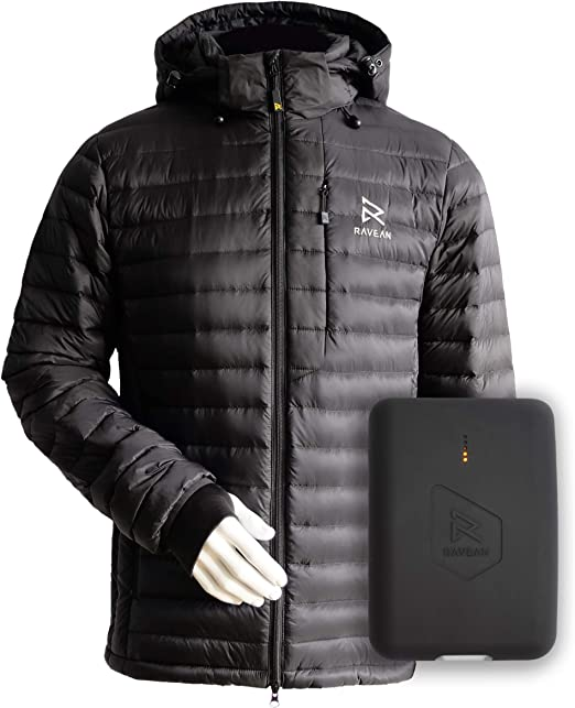 Heated Jacket Womens Slim Fit Rechargeable Winter Warm Keeping Jacket Without Battery Pack