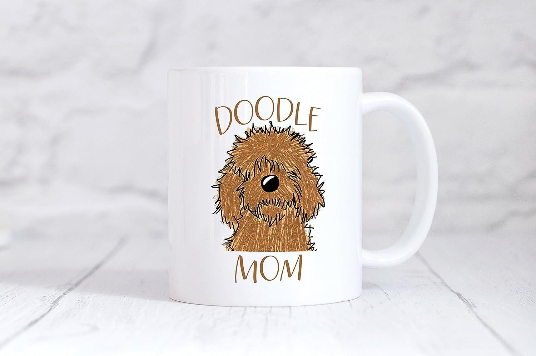 Doodle Mom Mug - Golden Doodle -11oz Mug