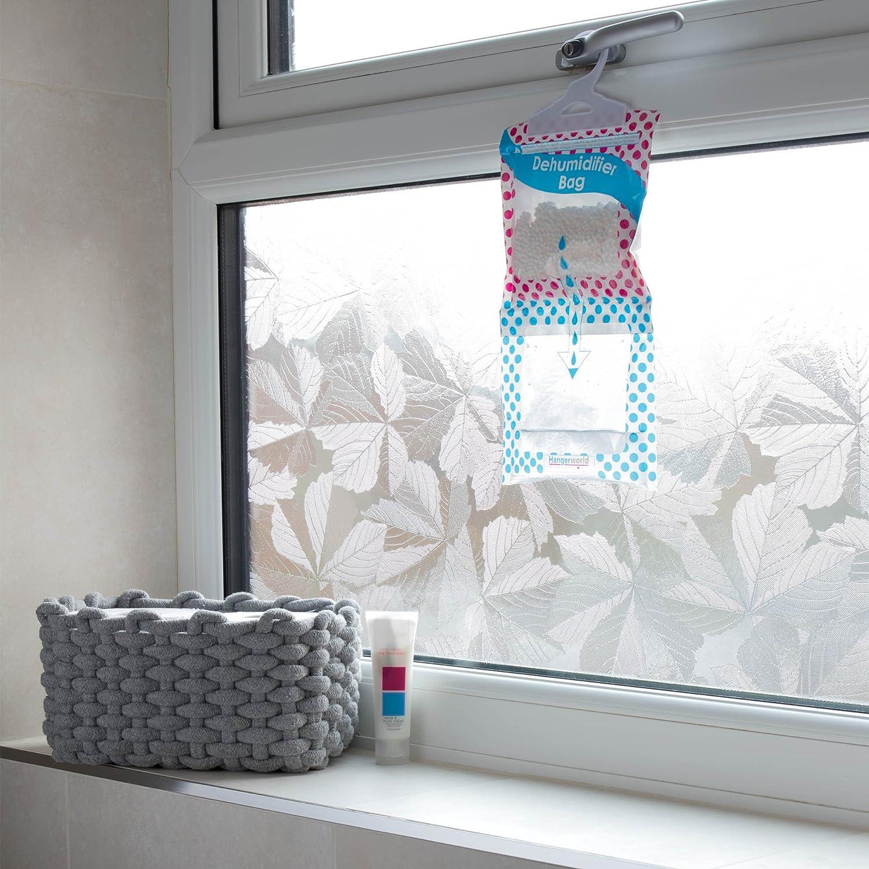 HANGERWORLD 9 Sacchetti Assorbi umidit/à da Appendere Assorbono e Catturano Umido in Casa e nellArmadio