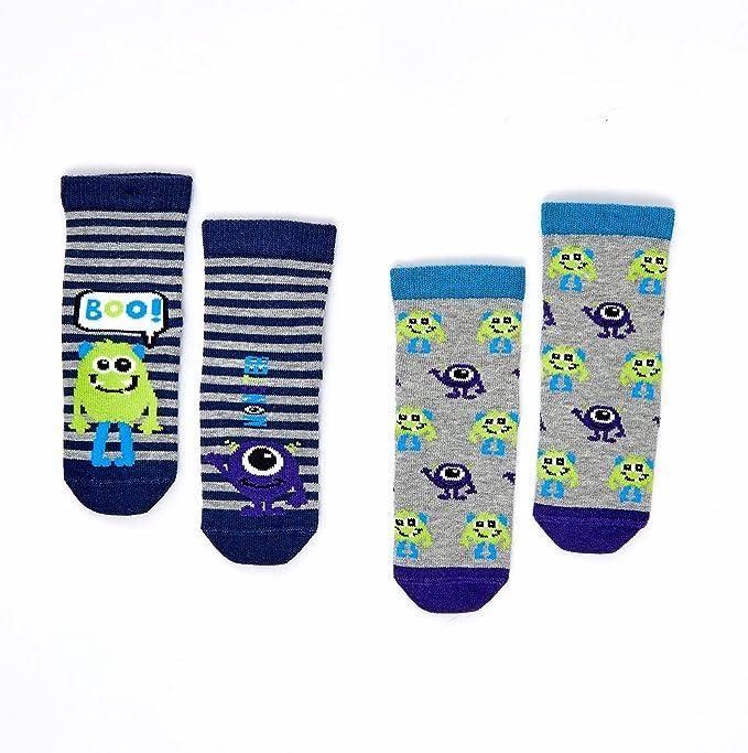 Amazon.com: Katia y Bony Monster niños calcetines de algodón ...