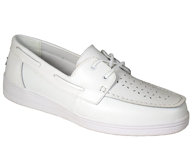 Dawn Ladies DL20 Moccasin Lawn Bowling Shoes White