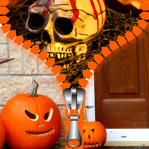 [Halloween Zipper Lock Screen] (Halloween Backgrounds Free)
